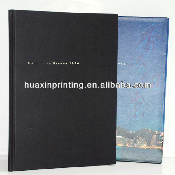 leather hardcovr book printing