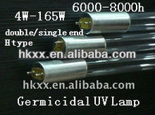 high quality low pressure CE cold cathode uv sterilization lamp 6mm 10mm 12mm