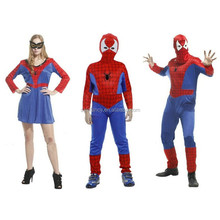 adult spiderman spider man cosplay costume for man QAMC-2166