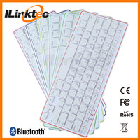 Wholesale universal Mini bluetooth keyboard with charge cable for ipad, iphone, ipad mini, Slim style keyboard