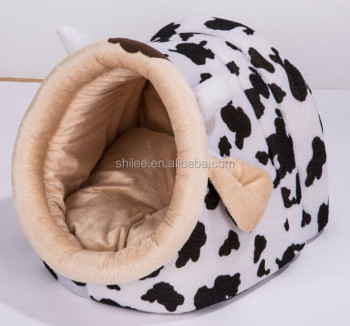 Lovely animal shape cat house hammock with dog cushion