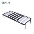 Heavy Duty European Style Single Size Metal Bed Frame with Black Painting DJ-PK05