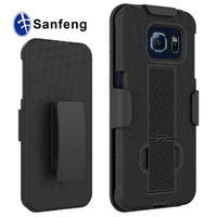 Smart Phone Kickstand holster Cases For Samsung Galaxy S6 Edge