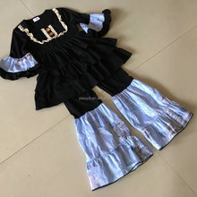 ruffle sets baby boutique clothing vkids clothes stock cotton baby girl boutique clothing sets