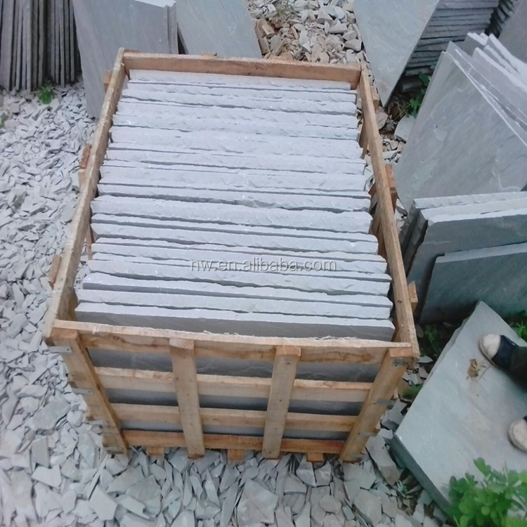 Natural white and Chinese roof slate tiles Thin Slab Stone Form and premium natural stones slate