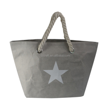 Printing grocery foldable white package kraft paper carrier bag with logo