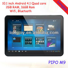 10.1 inch RK3188 2GB RAM Quad Core Android 4.1 tablet pc
