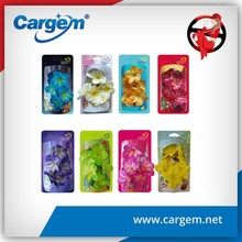 CARGEM Wholesale 3D Flower Rearview Air Freshener For Car