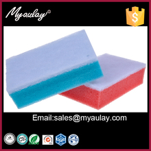 (KC-C-068) 2016 Product Wholesales Multi Coloured Abrasive Sponges Cleaning Kitchen Washing