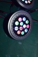 15W AR111 RGB led spot light with Guarantee 3 years