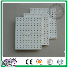 Perforated Acoustic Gypsum Composite Fiberglass Ceiling Board