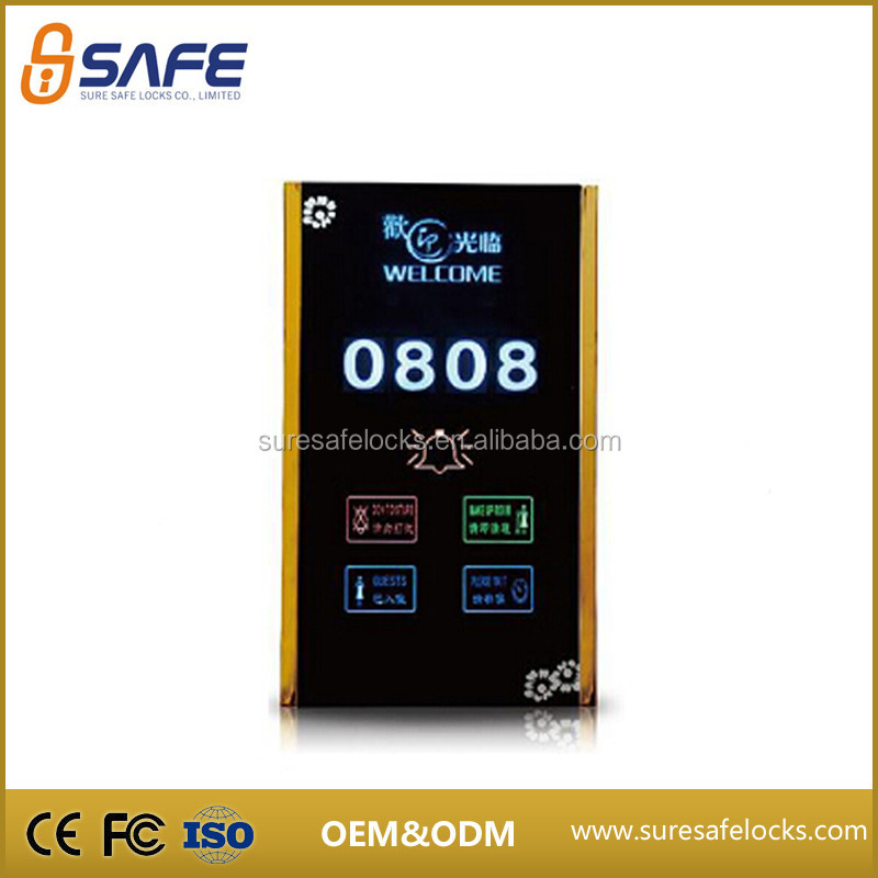 The most popular electrical outdoor touch screen switch panel board for hotel room