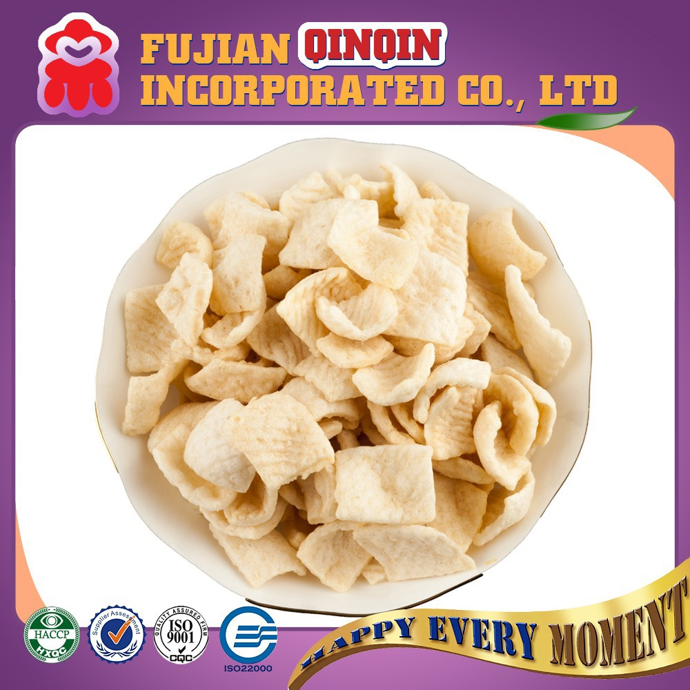 80G Instant healthy crispy baking prawn crackers chips