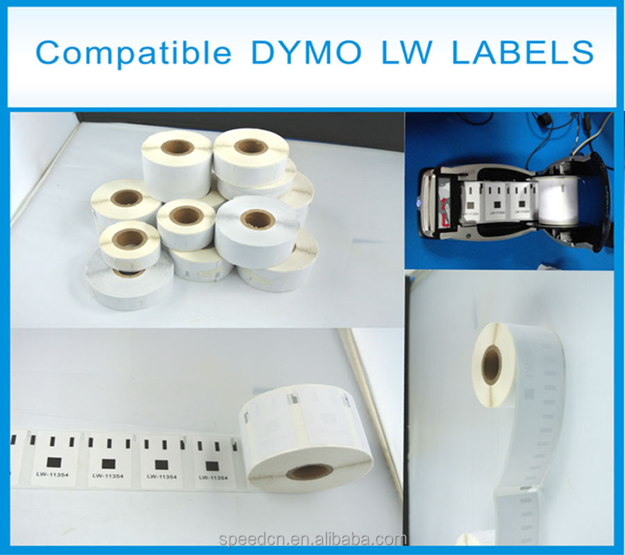 Factory price cheap dymo 30336 label tape 25mm*54mm dymo 11352 for dymo printer