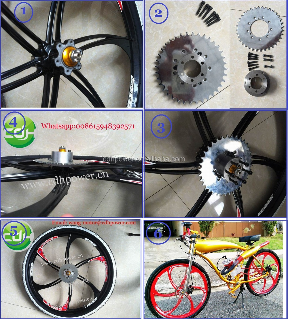 new out sports bicycle gas wheel /wheel for motorized bicycle