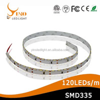 Side View Flexible LED Strip SMD335-120leds DC12V/DC24V LED Strip light with CE Approved