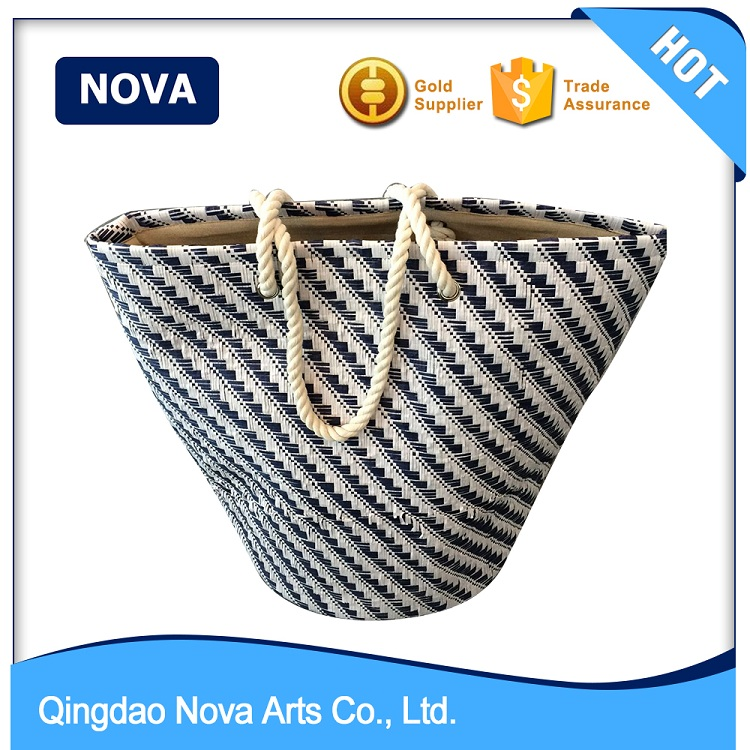 Good quality paper straw woven beach bags