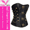 2016 New Fashion Brocade Steampunk Gothic Punk Steel Boned Corset
