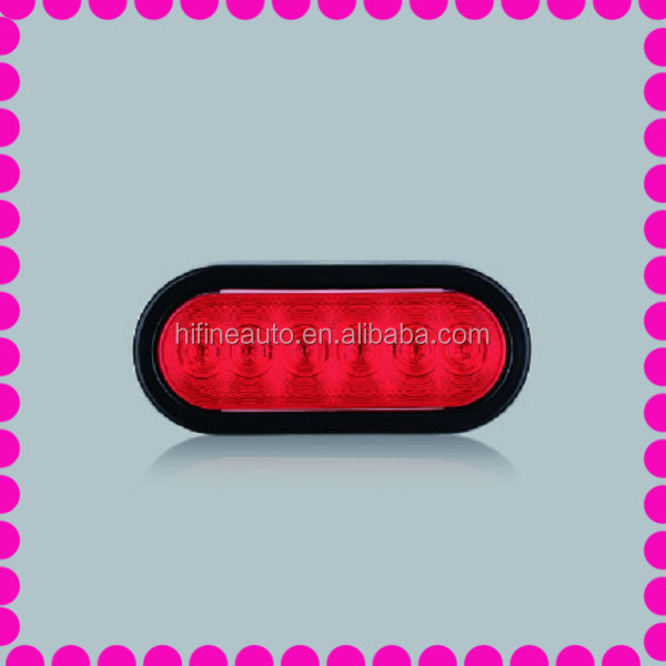 6'' Oval LED Stop/Turn Trailer Tail Light