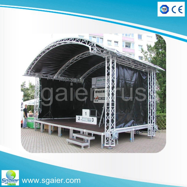 used mobile portable stage for sale