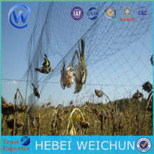 Black nylon hunting bird net