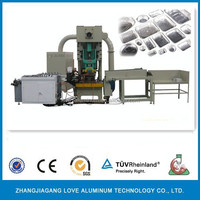 Roll Type and Embossed Treatment aluminum foil container making machine