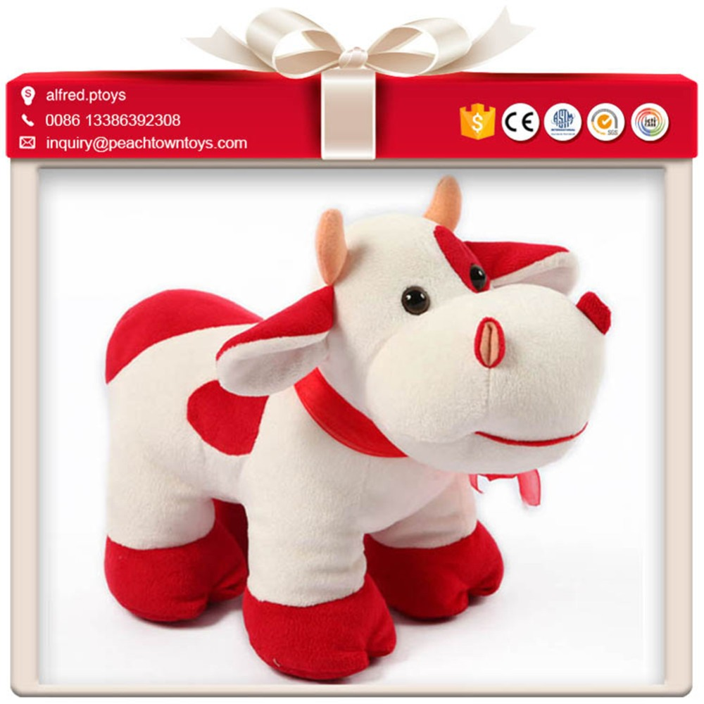 Direct sourcing plush horse cow animal crossing