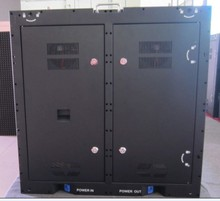 Full color p10 outdoor stadium display screen video led moving screen iron cabinet
