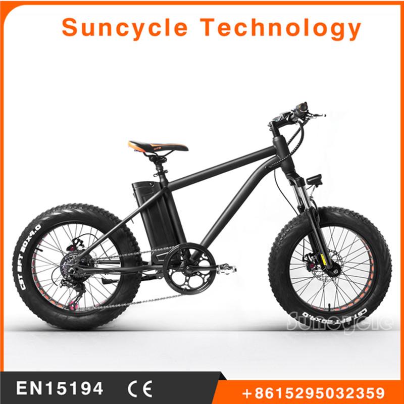 Dos ruedas de bicicleta eléctrica bicicleta crucero de la playa ...