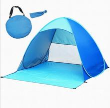 ZP021 porable convenient waterproof windbreak outdoor camping instant pop up beach tent