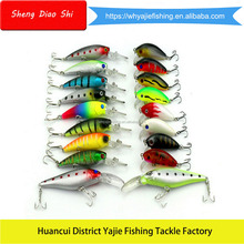 Top Quality Artificial Pesca Plastic Hard Bait Fishing Lure Set Moulds