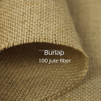 Jute fabric 100% jute fiber yarn burlap fabric gunny sacking bin bagging fabric for hessian cloth sackcloth Natural pure colour