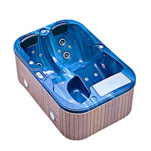 JAZZI High Quality Hydro Whirlpool Bathtub Balboa Fiberglass Pool Hot Tub Spa