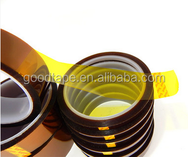 Good Brand Polyimide Film Tape and Size 10mm*33m and High Temperature Resistance Insultaion Polyimid Tape