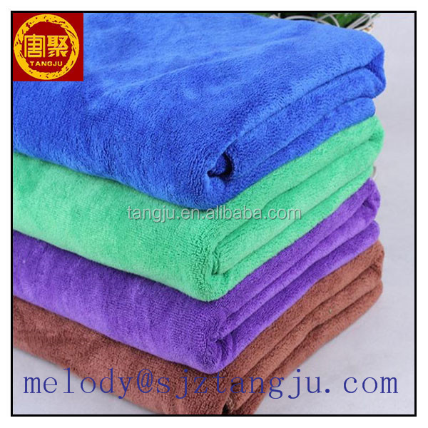 Tangju TJ-MHigh water aborbent super soft microfiber bath/face/cleaning towel