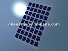 5w transparent solar panel mono-crystalline silicon (100-240w in stock)
