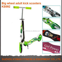 Big wheels child kick scooters