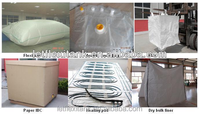 Flexi Bags Supplier Bulk Container Liner Bag Shipping