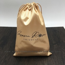 Custom Satin Fabric Gift bag With Drawstring