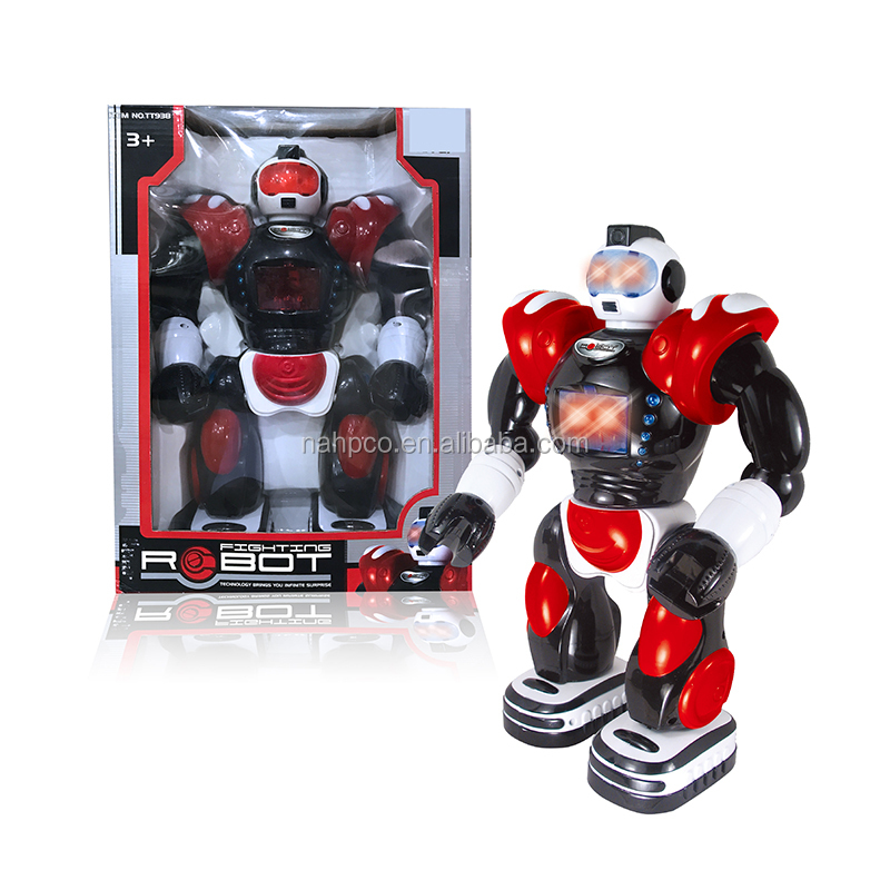 infrared remote control toy rc robot with sound inductived for children