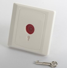 Fireproof housing Emergency Button Panic Button with <strong>key</strong> for alarm security system