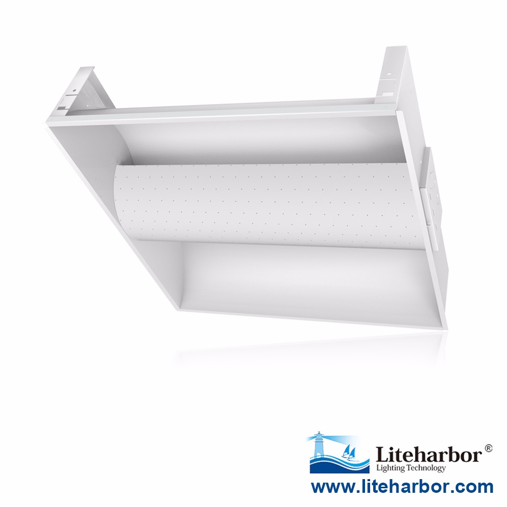High Lumen ul dlc listed 2x2 and 2x4 troffers LED Ceiling troffer retrofit kit