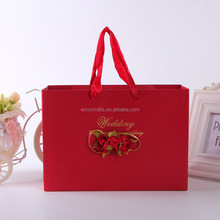 Printed Luxury Gift Shopping Big Strong Paper Bags with Your Own Logo