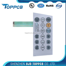 LED Embeded pressure sensitive membrane switch with Backlight