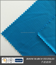 knitting garment fabrics supplier polyester cold feeling beehive mesh fabric 165gsm 160cm new material fiber