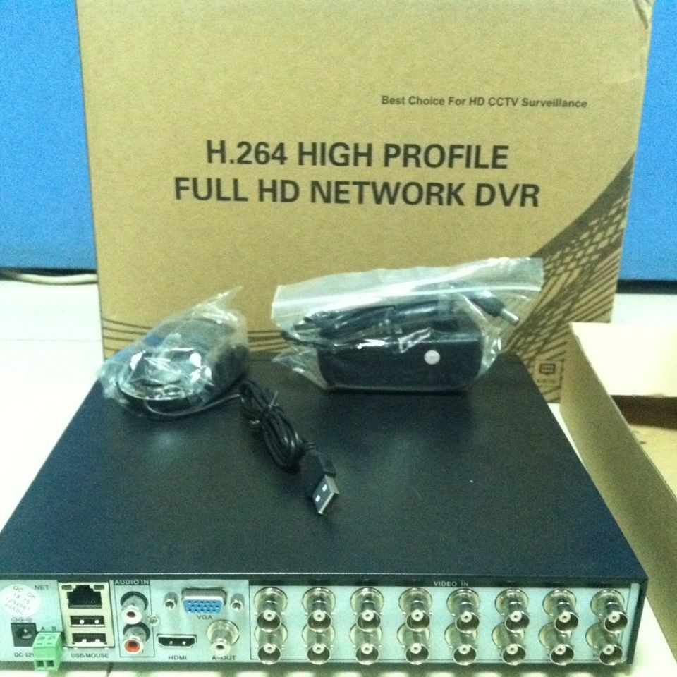 Factory price 16 channel standalone dvr h 264