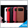 Smart window flip case for samsung galaxy S4 I9500 original leather cases back cover