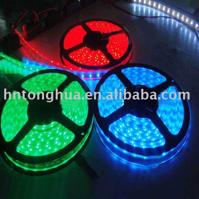 LED strip light,Waterproof RGB SMD LED Strip (100cm/30pcs LEDs), Flexible LED Strip
