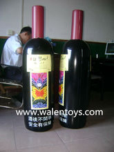 China Supplier giant inflatable wine bottle,advertising grape,promotional toys,EN71 approved