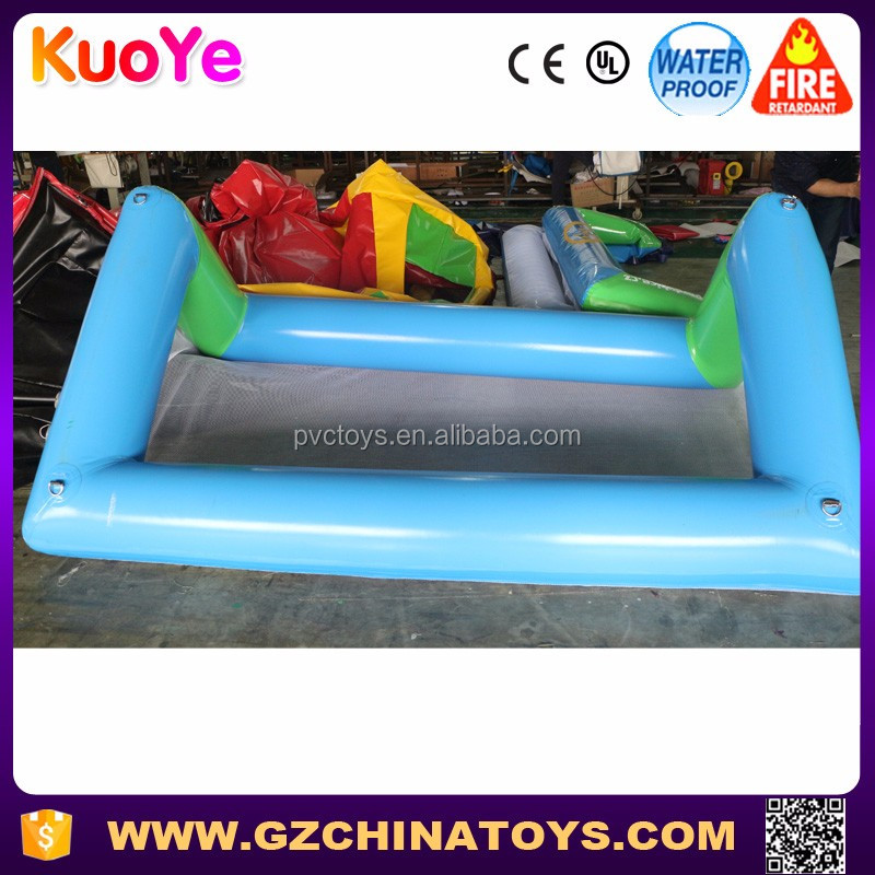 High quality customized inflatable water polo goal for pool